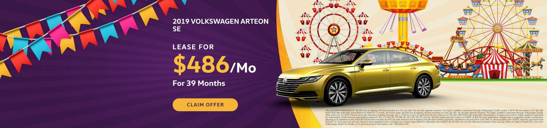 2019 June Arteon Offer