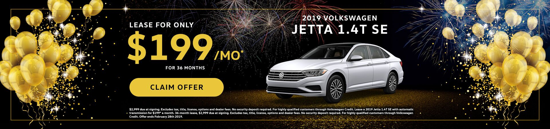 2019 VW Jetta January Special