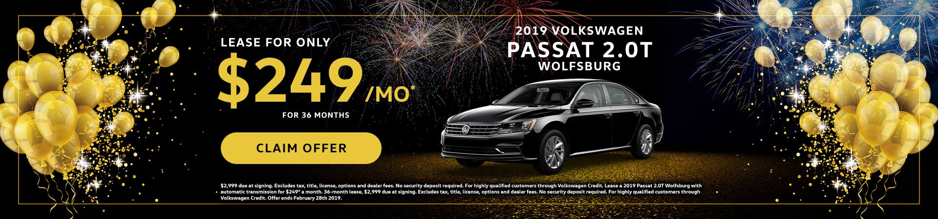 2019 VW Passat January Special