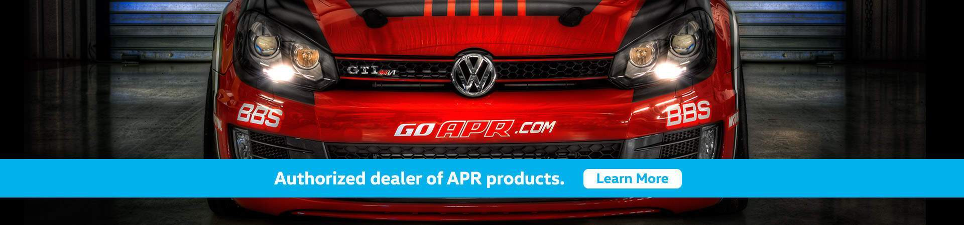 Authorized dealer of APR products