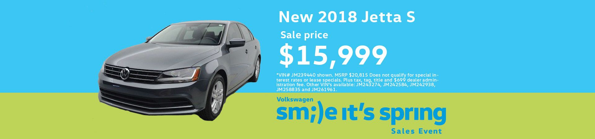 2018 Volkswagen Jetta JETTA 1.4T S 6-SPD