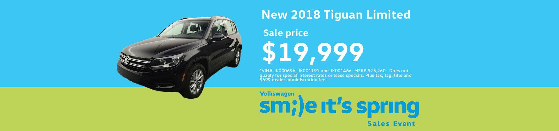 2018 Volkswagen Tiguan Limited TIGUAN LIMITED 2.0T