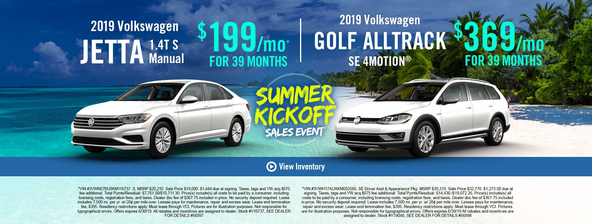 Jetta and Golf All Track