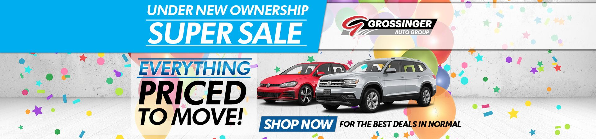 Under New Ownership Super Sale!