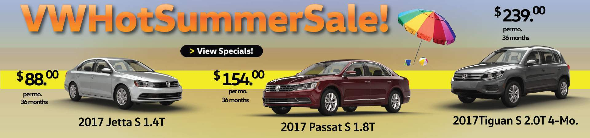 Hot Deals at Douglas VW in Summit on ALL New Volkswagen Models!