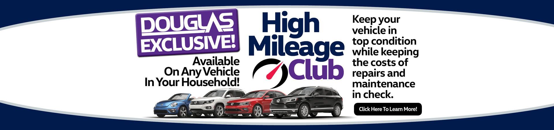 The Exclusive Douglas VW High Mileage Club