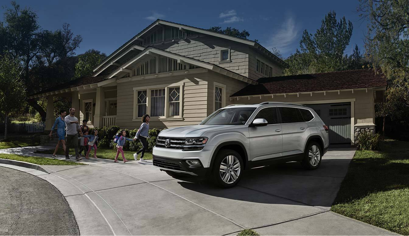 New Volkswagen Atlas at Steet Ponte Volkswagen