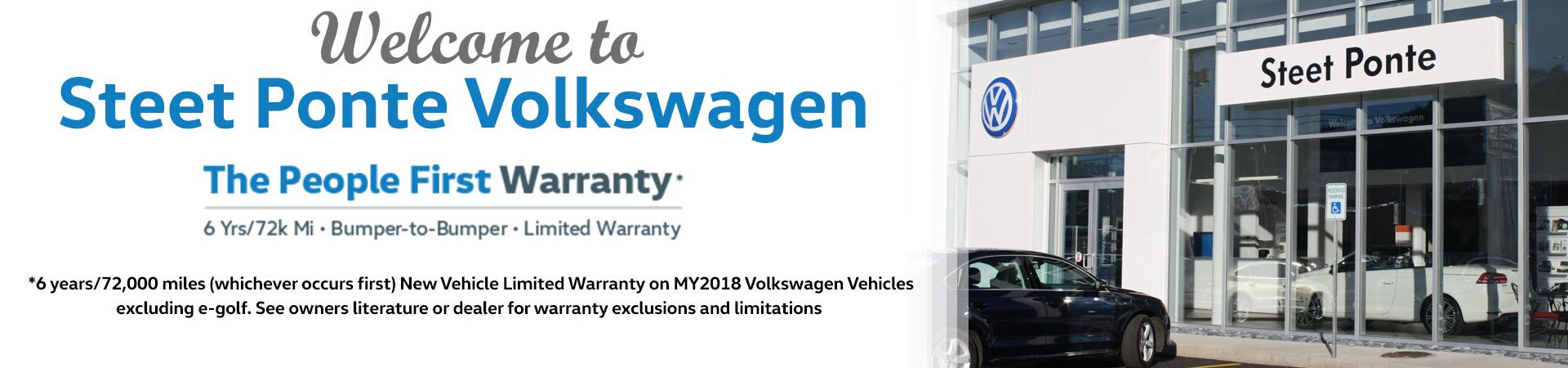 Peoples Warranty Slide-Steet Ponte VW
