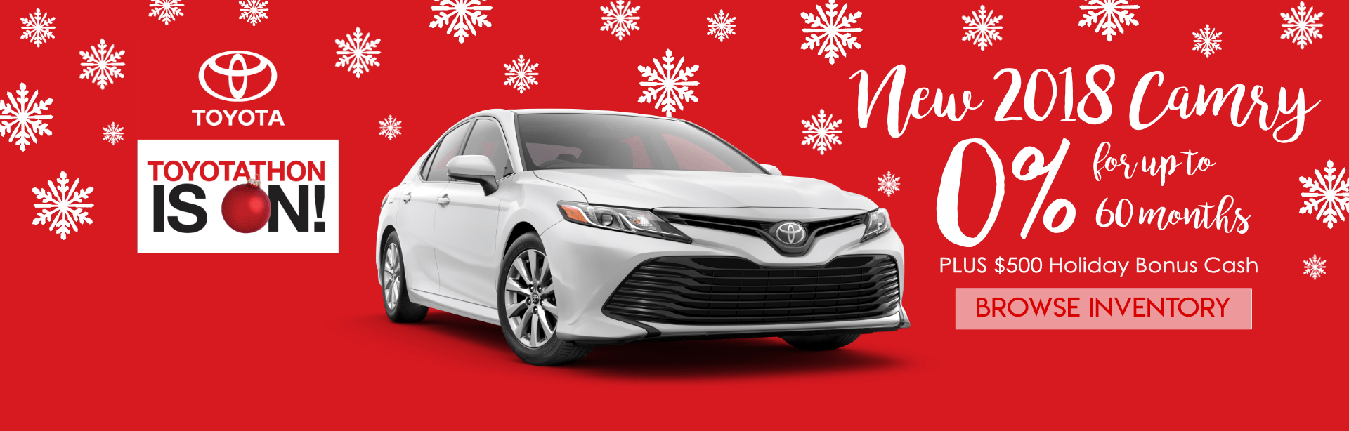 2018 Camry Offer