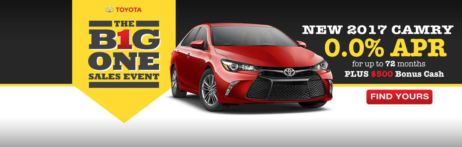 2017 Camry Offer