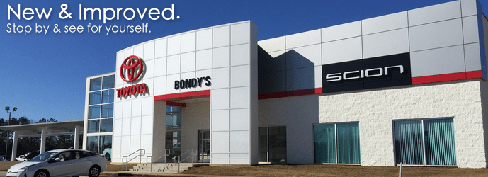 Bondys Toyota New Building