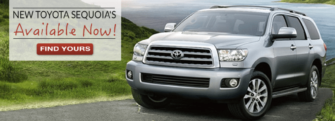 New Toyota Sequoia Available