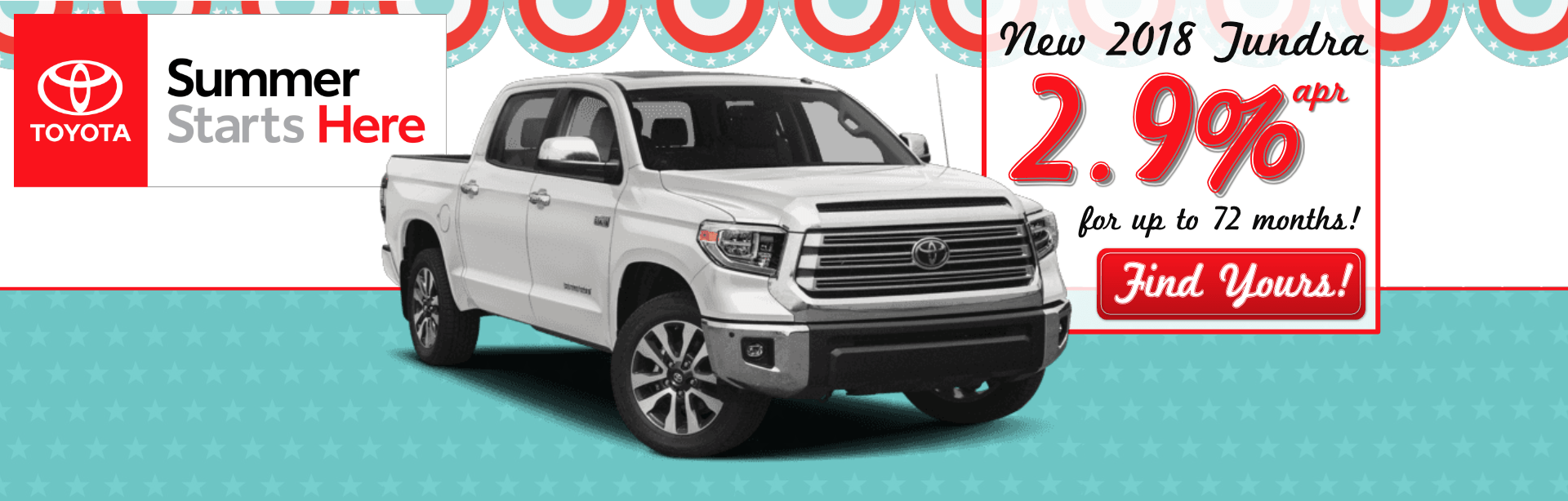 2018 Tundra Offer