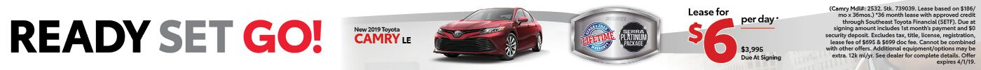 Camry March 2019