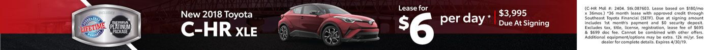 New C-HR Lease