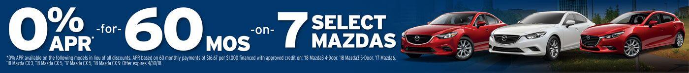 2018SelectMazdas
