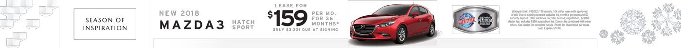 Mazda3 Hatch Inspiration