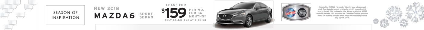 Mazda6 Sport Inspiration