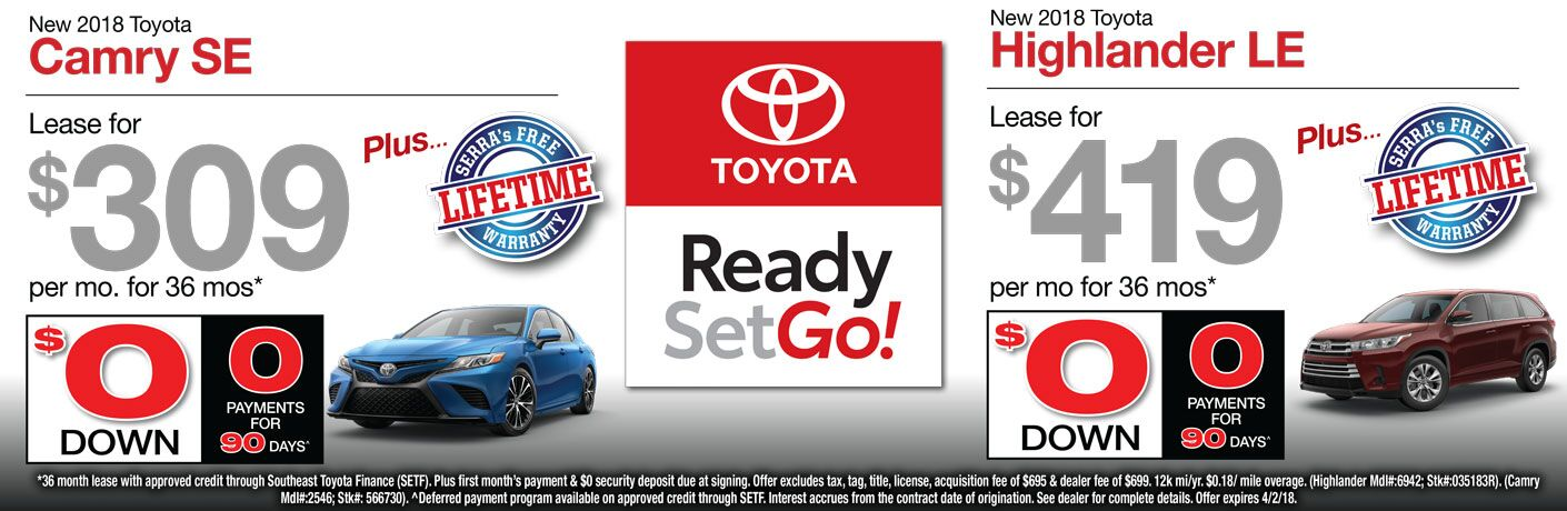 Toyota Dealership Birmingham Al Used Cars Serra Toyota