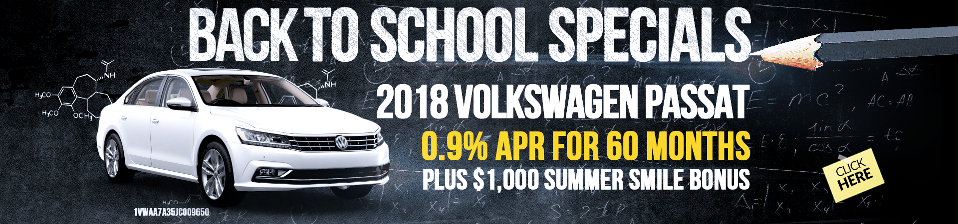 2018 Vw Passat Offer