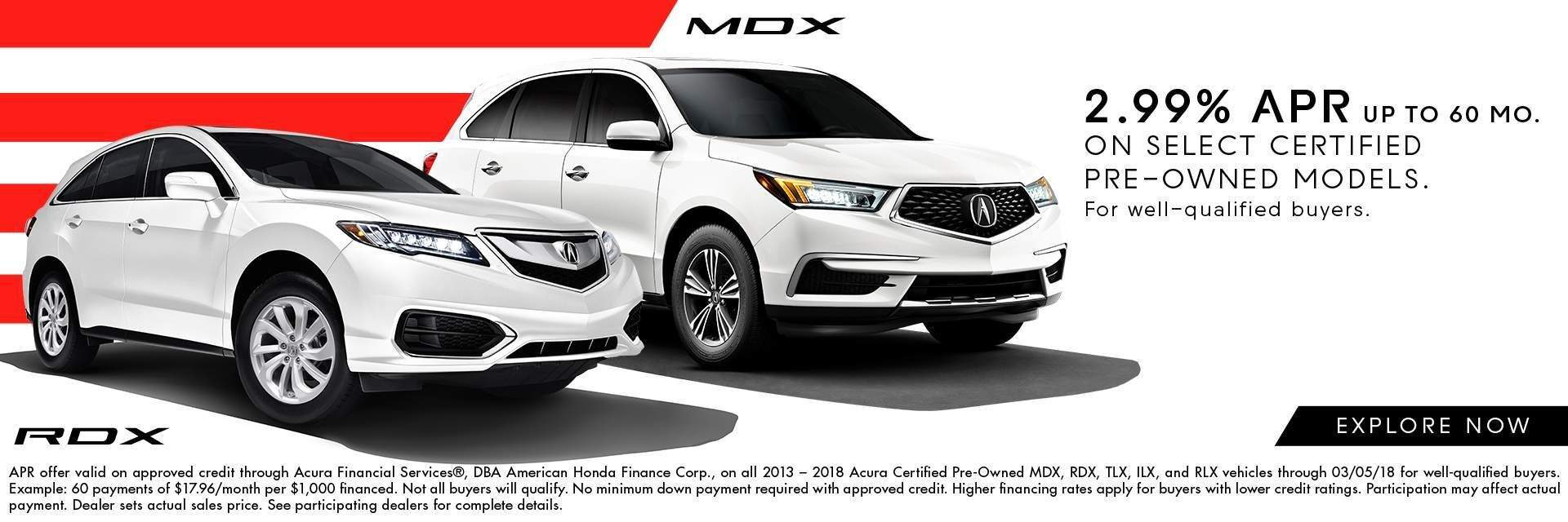 Certified Pre-Owned RDX & MDX