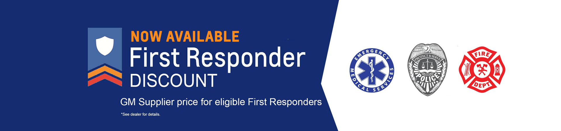 Chevrolet First Responders Program