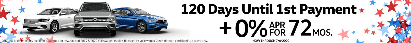 120 Days Until 1st Payment