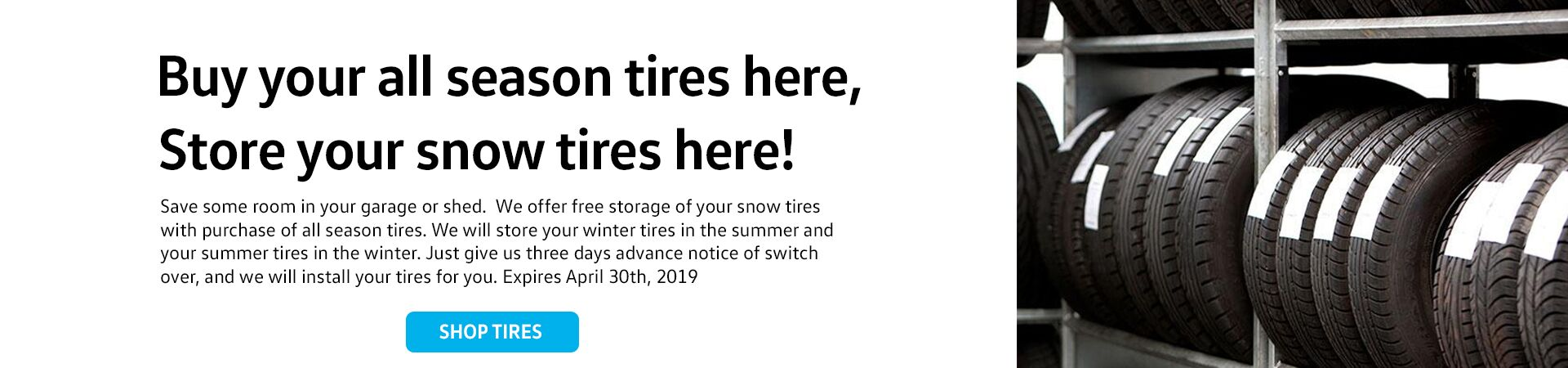 Buy All Seasons tire Special