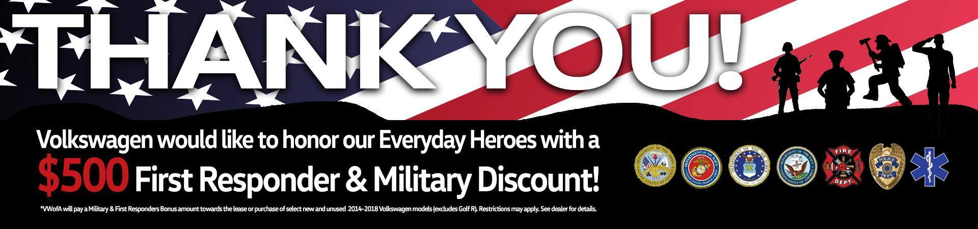 First Responder & Military Discount