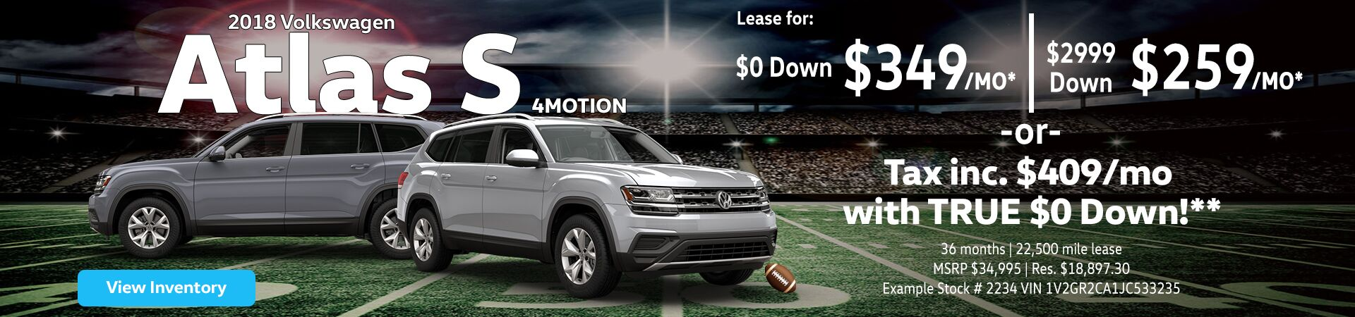 2018 Atlas lease offers near Kingston, NY