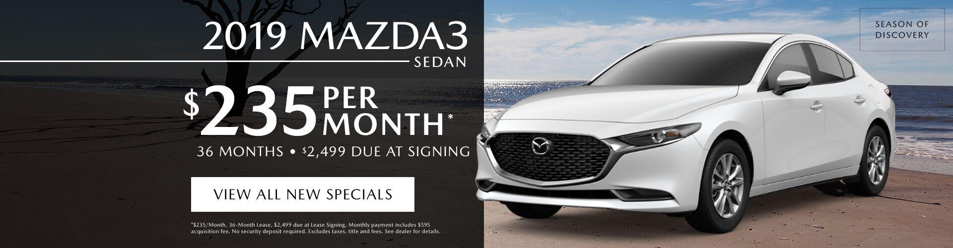 2019 Mazda Mazda3 4-Door