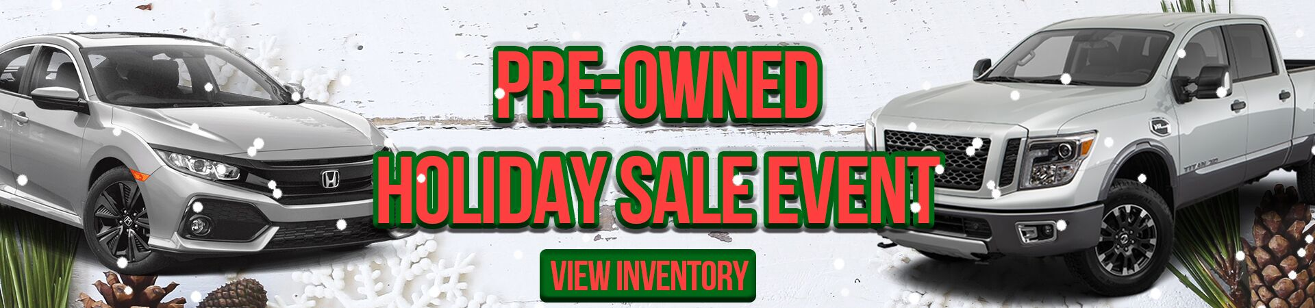 Holiday Preowned Sale 2019DEC