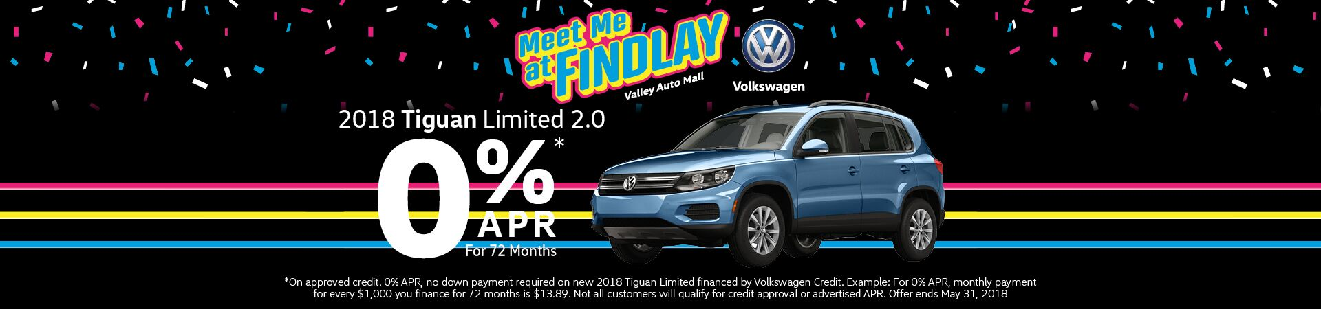 April Tiguan Limited