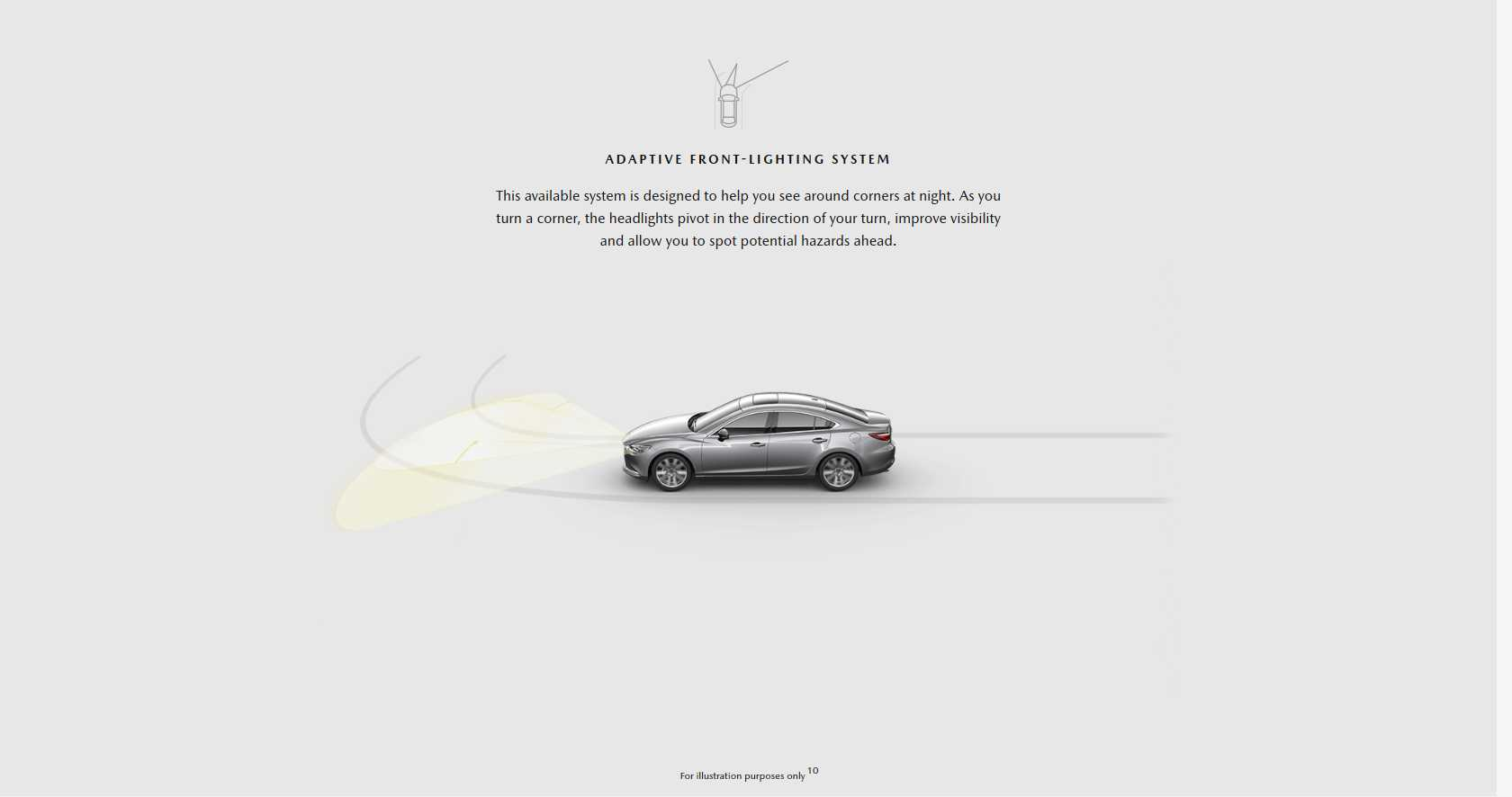 Adaptive Front-lighting system