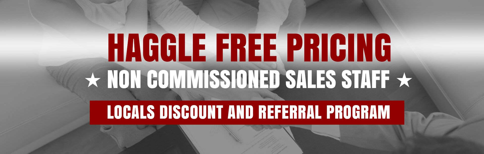 Haggle Free Pricing