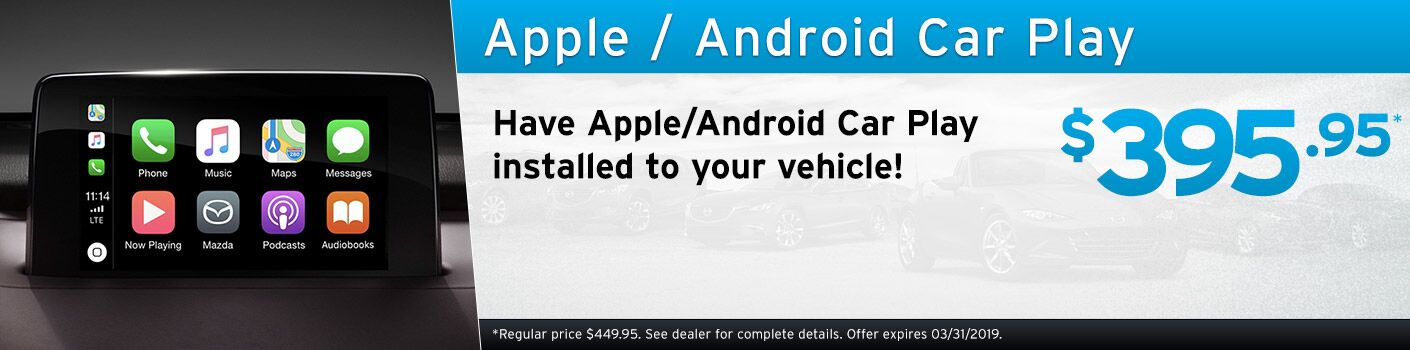 Apple/Android Car Play