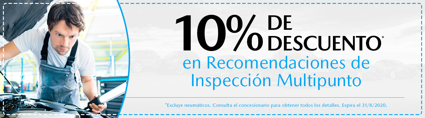 Aug - 10% Off Multi-Point Inspection Recommendations