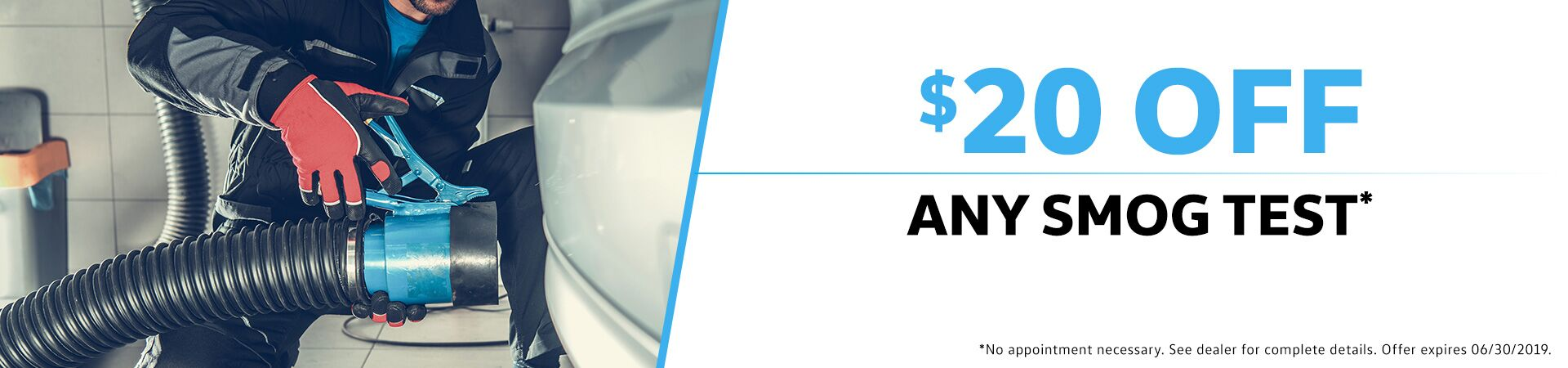 $20 Off Any Smog Test