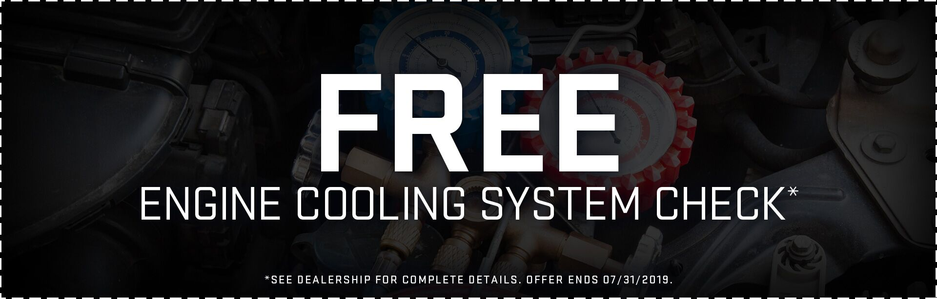 Free Engine Cooling System Check