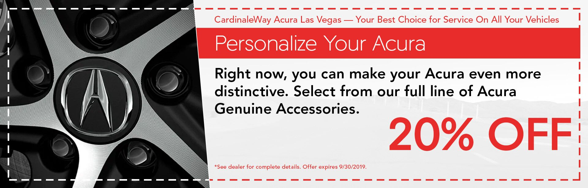 Personalize Your Acura