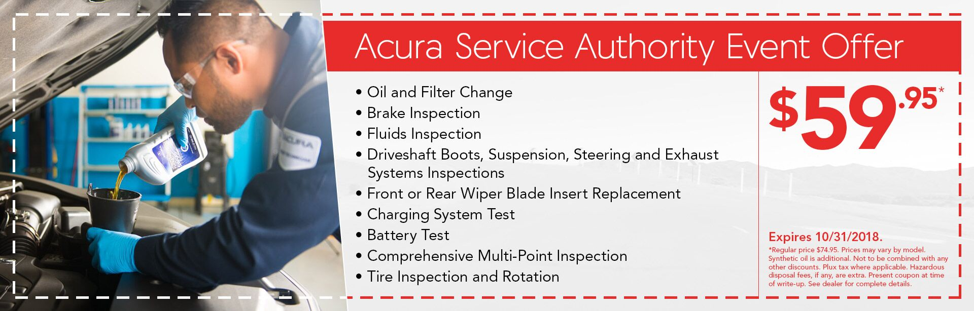 Las Vegas Nevada Acura Dealership CardinaleWay Acura - Acura coupons oil change