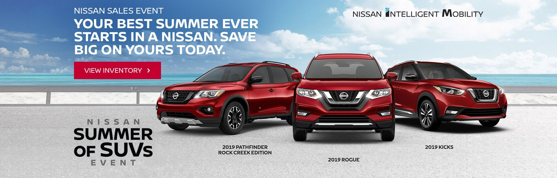 Nissan Summer of SUV