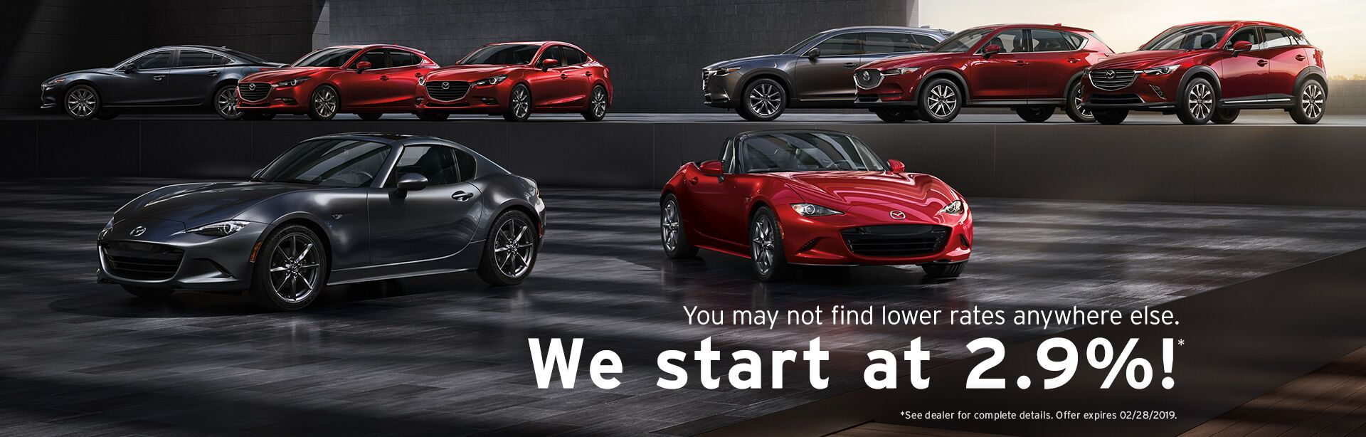 Low Rates at CW Mazda Peoria