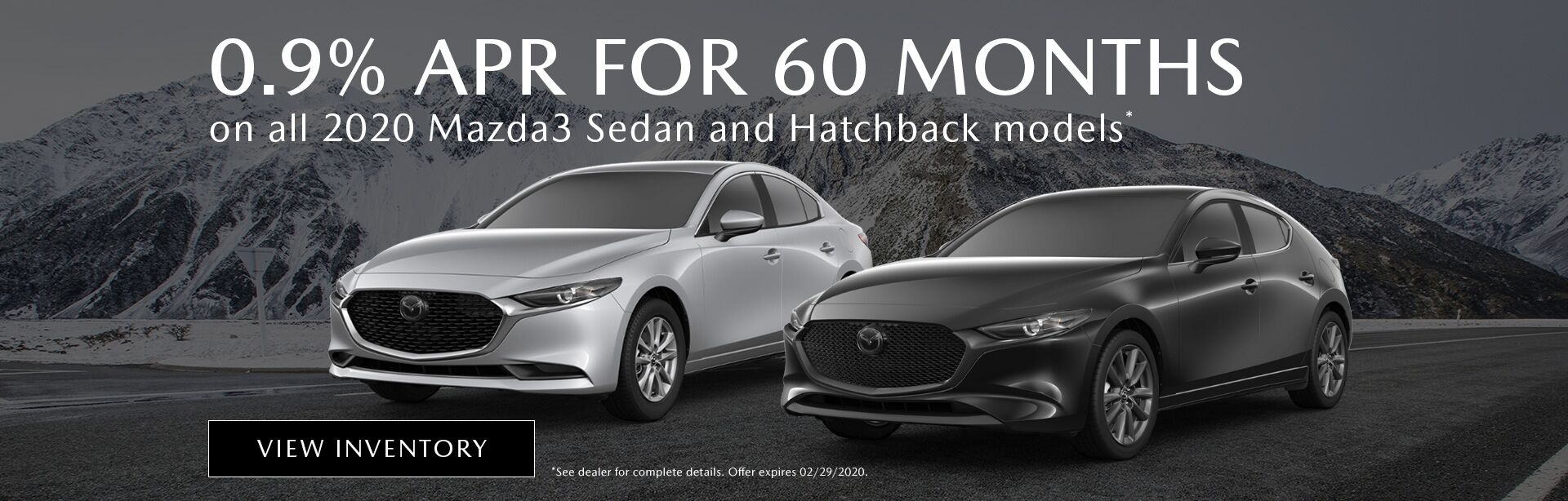 2020 Mazda3 Sedan & Hatchbacks
