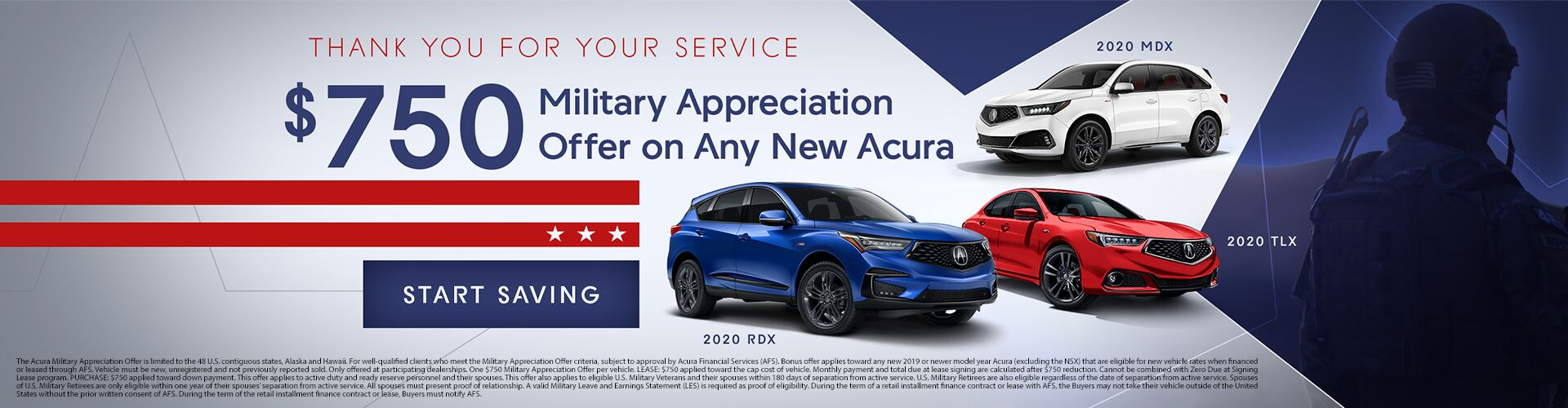 Acura Military Appreciation Offer