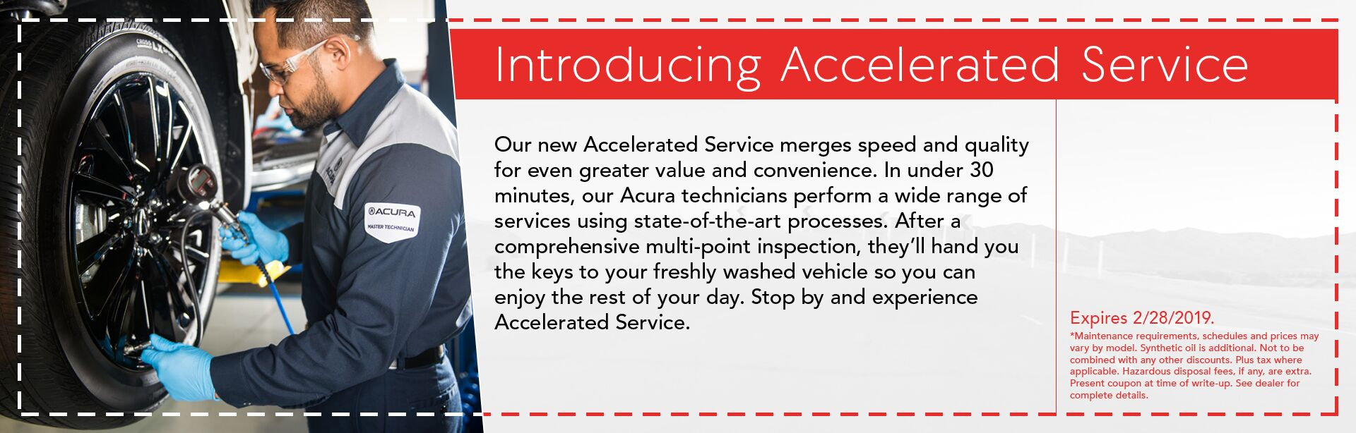 Introducing Accelerated Service