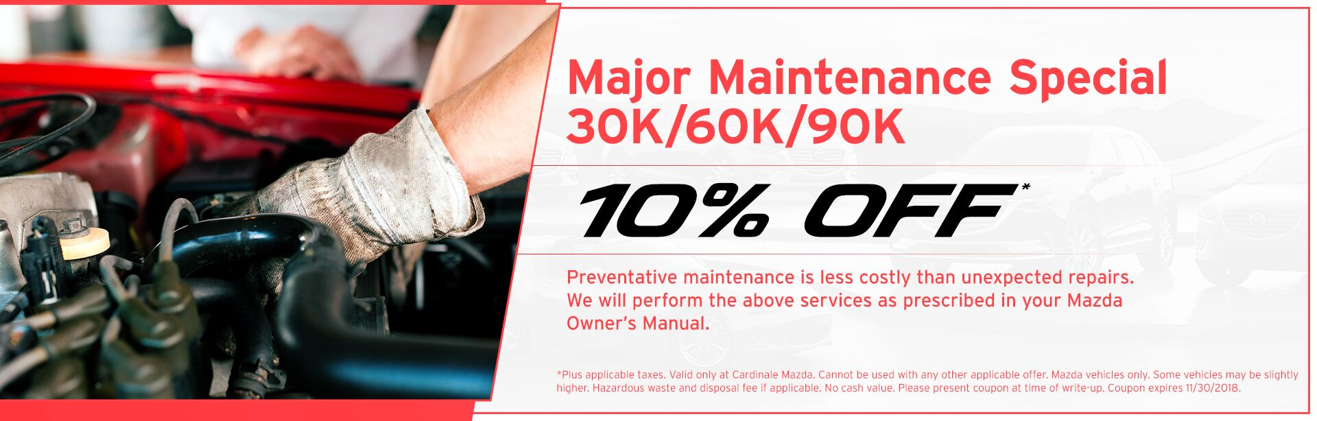 Major Maintenance Special 30k/60k/90k