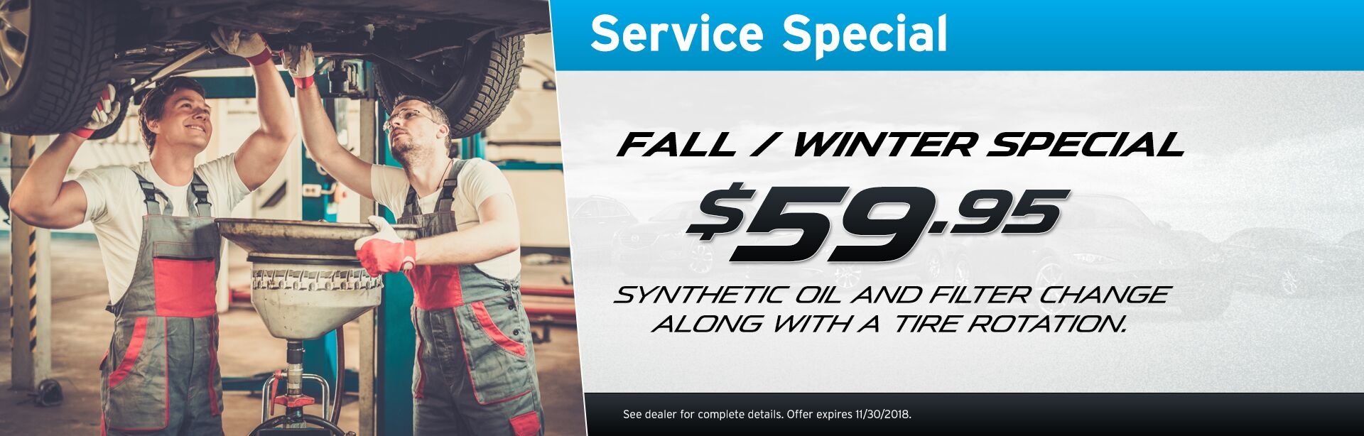 Fall/Winter Special