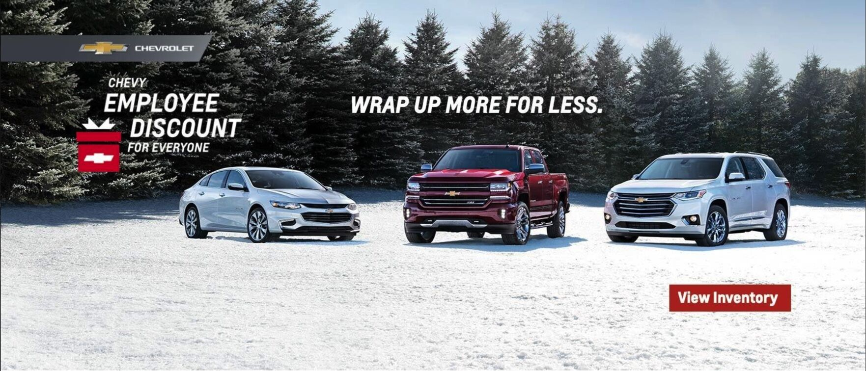 Chevrolet Employee Discount Pricing