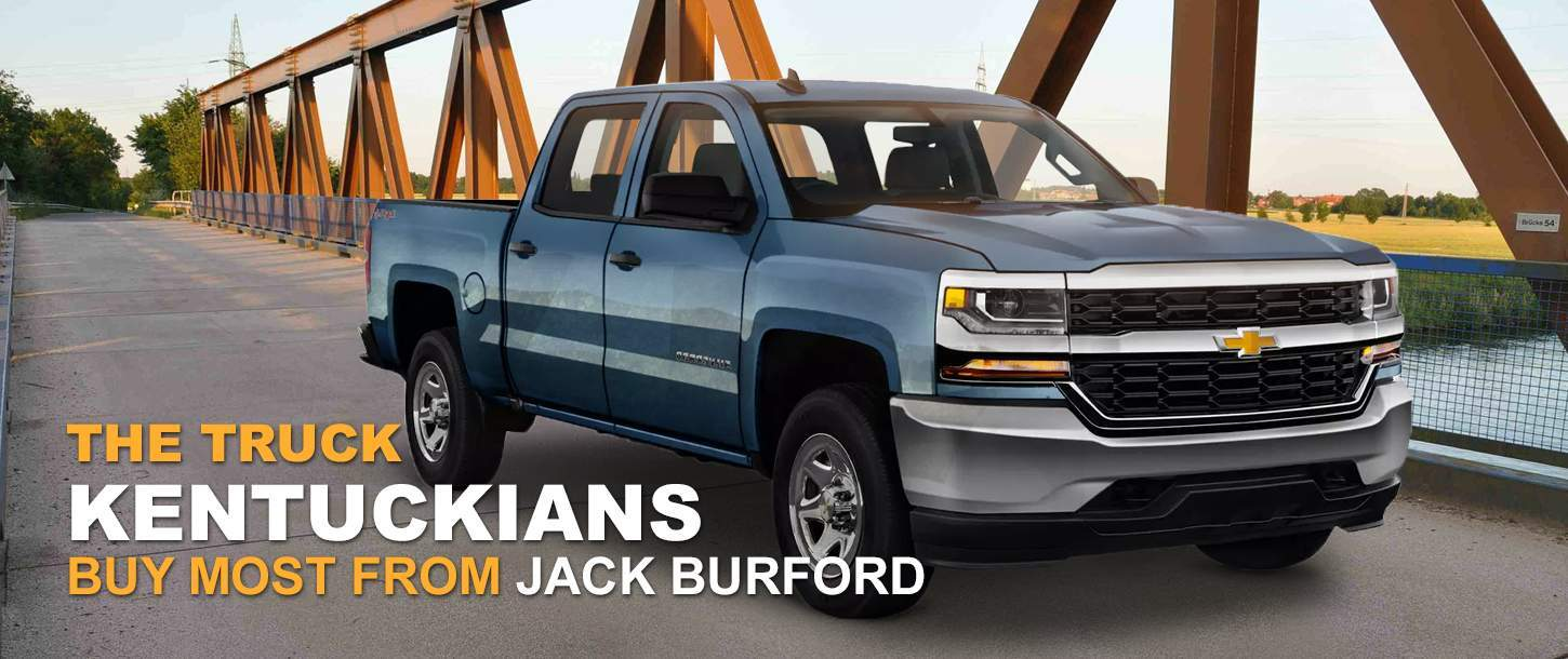 Chevy Silverado at Jack Burford Chevrolet